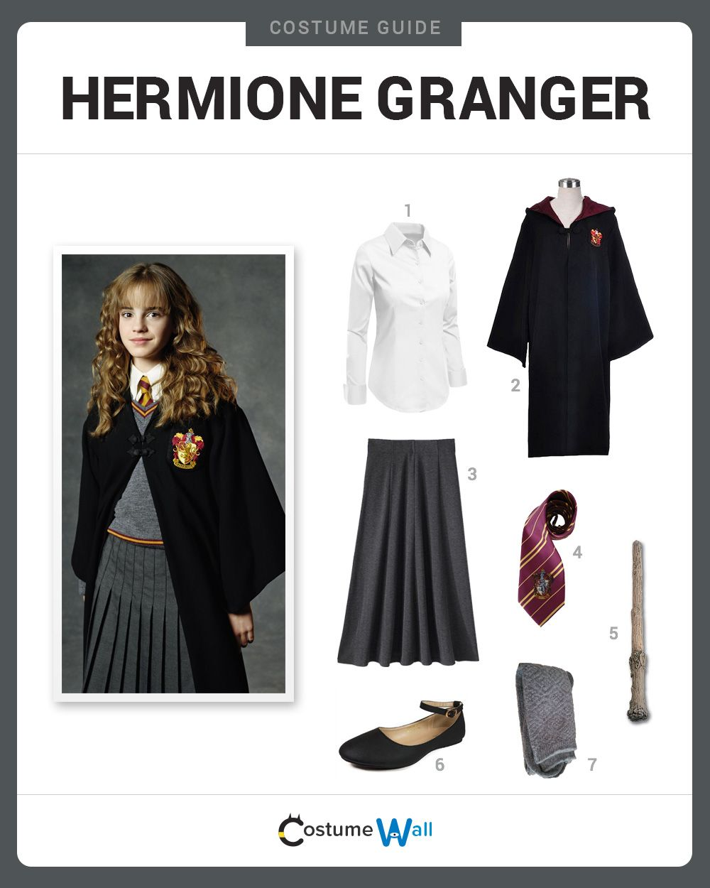 Hermione Outfit Harry Potter