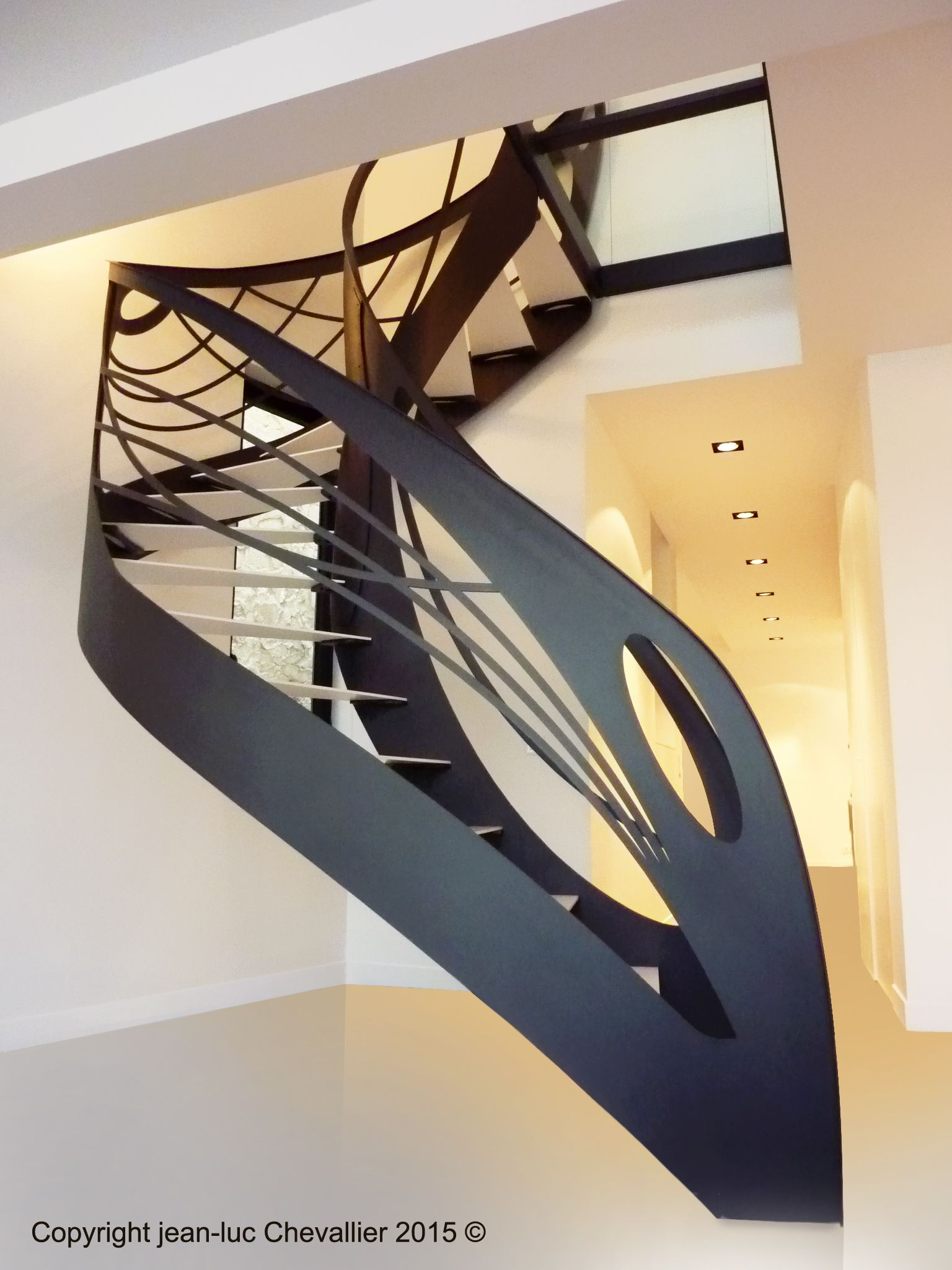 L escalier design contemporain sublime l art nouveau escalier design escalier design - Sculpture de jardin contemporaine ...