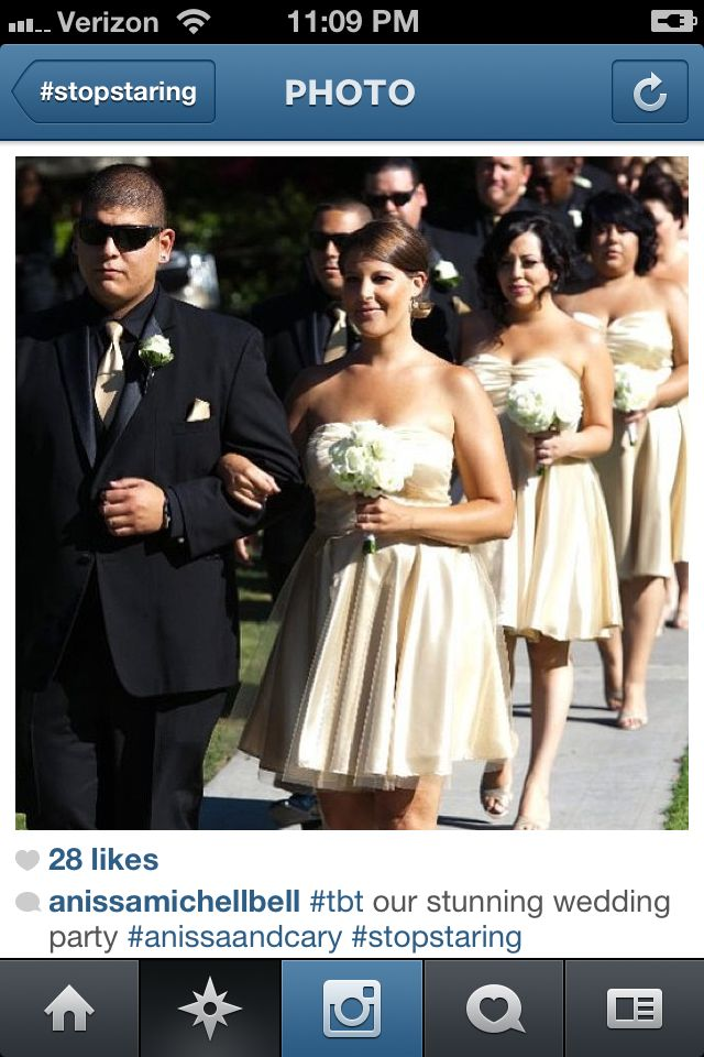 Bridesmaids @ Anissa Bell's wedding... Another SS look!