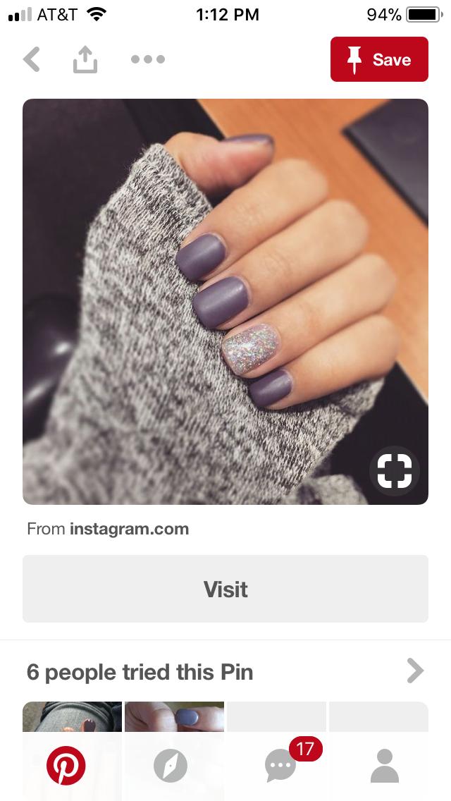 Pin by Brittany Heinsaar on Nail Art | Pinterest | Fabulous nails ...