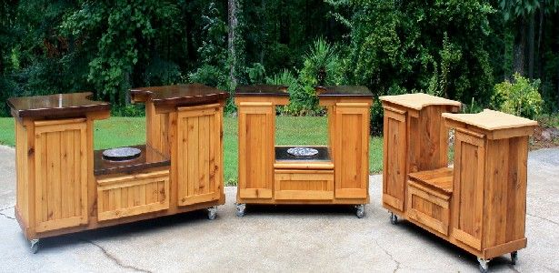 Order Your Custom Indoor And Outdoor Tables And Kitchens From Posh Patios:  Www.poshpatios