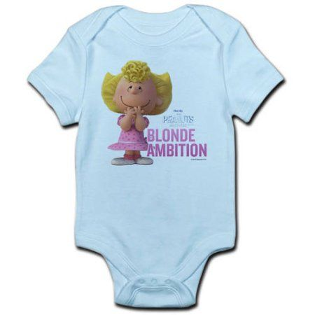 f3cc1e045e2 CafePress Sally - Blonde Ambition Infant Bodysuit