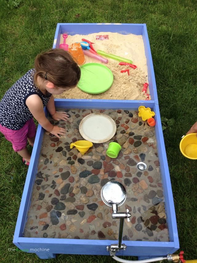 diy sand water table the haas machine