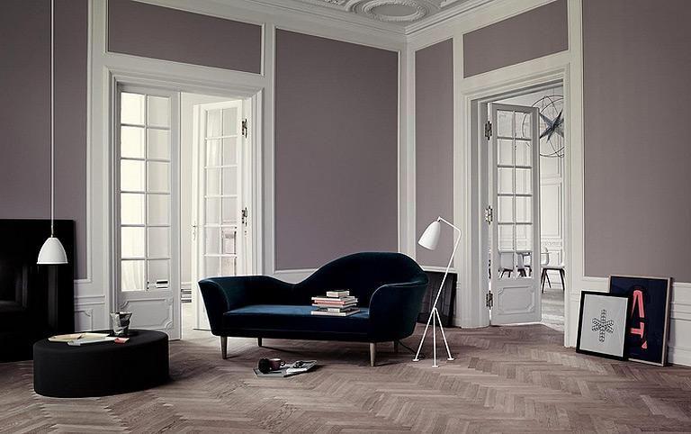 Zwei Wandfarben Kombinieren Schone Ideen Bilder Wohnen Sofa Design Schoner Wohnen