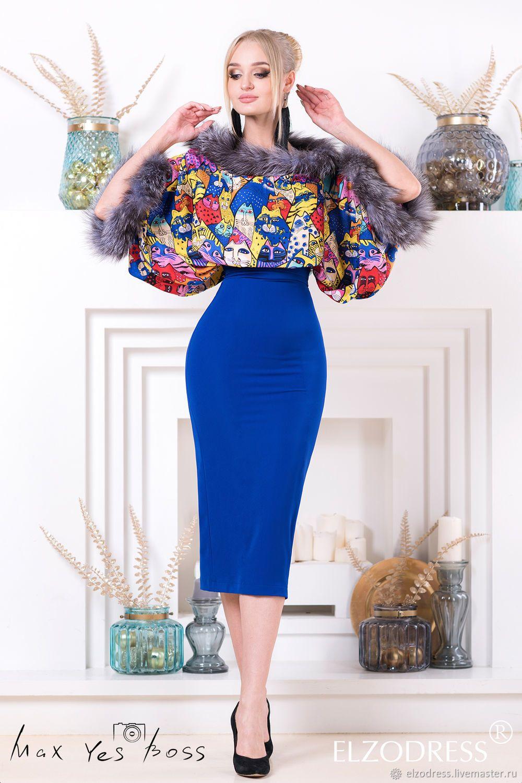 84d411661c2 Нереальная юбка карандаш с завышенной талией в миди длине – купить в  интернет-магазине на Ярмарке Мастеров с доставкой
