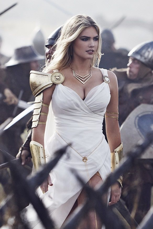 Kate Upton On Horse Game Of Thrones