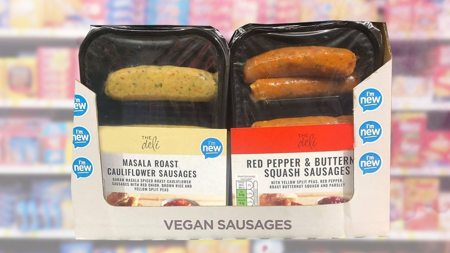 Aldi Launches Healthy Vegan Sausage Range Stuffed Peppers Food