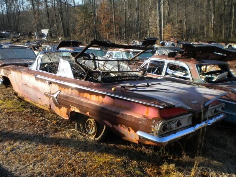 60 Impala Convertible Sad Needs Rescued Pinterest Convertible
