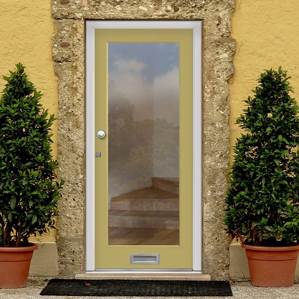 Made to Measure Exterior Full Pane Door - Fit Your Own Glass ...