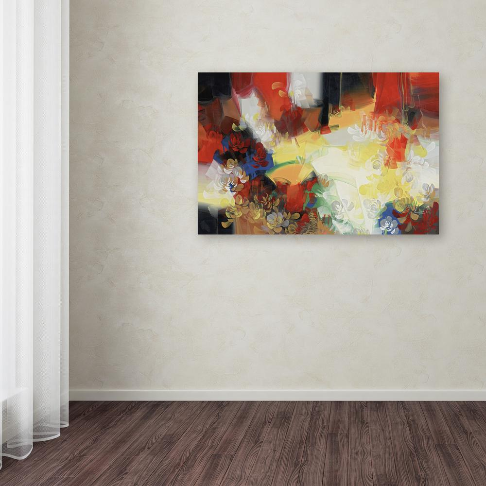 """30 in. x 47 in. """"Warmth"""" by Masters Fine Art Printed Canvas Wall Art"""