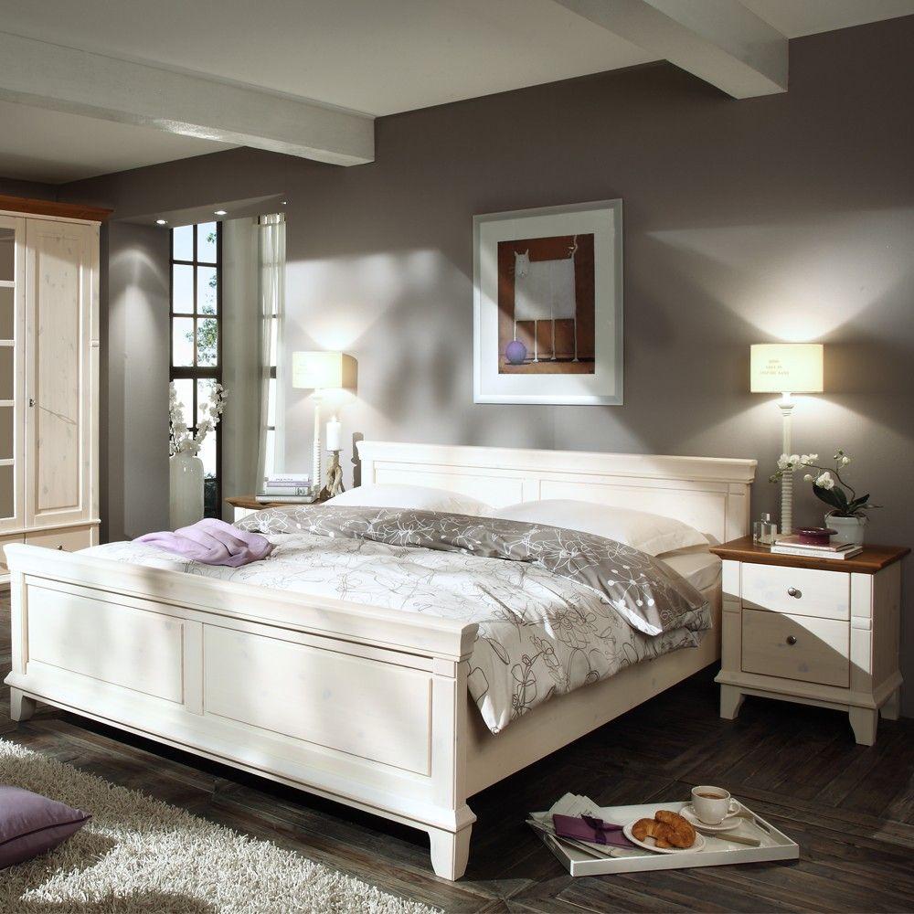 Gut Elegante Landhausstil Schlafzimmer Möbel In Weiß Galini