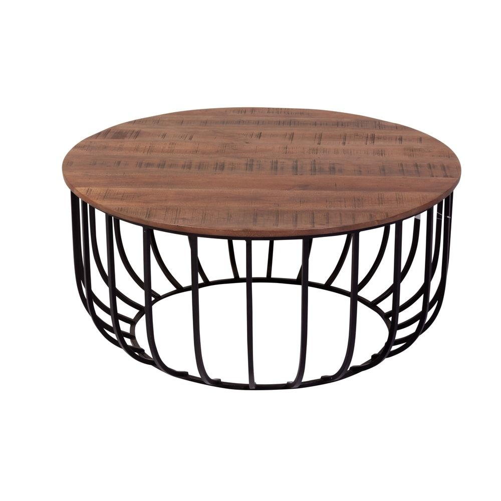 Park Art|My WordPress Blog_Wire Coffee Table With Wood Top