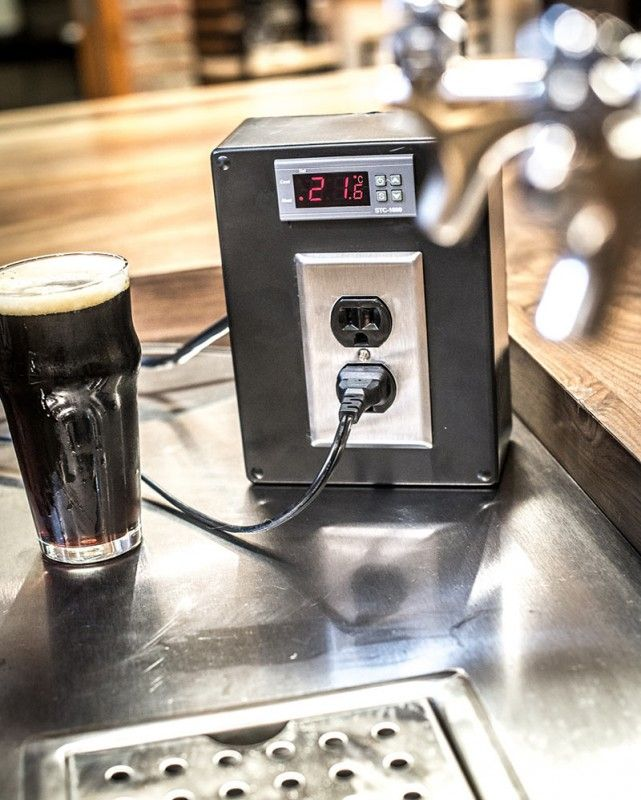 Homemade Temperature Control Homebrewing | Home Brewing in