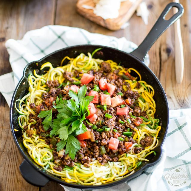 Ground Beef over Zoodles   Recipe   Beef recipes, Ground beef recipes, Zoodle recipes