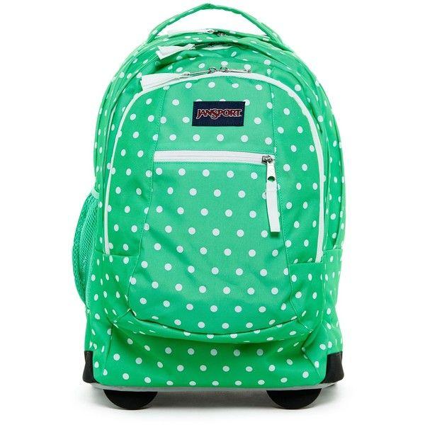 JANSPORT Driver 8 Rolling Backpack (145 CAD) ❤ liked on Polyvore ...