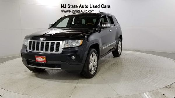 2012 Jeep Grand Cherokee 4wd 4dr Overland 2012 Jeep Used Cars