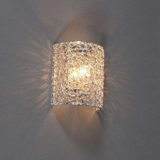 QAZQA Draht - Wandlamp - Half Rond - Aluminium - verlichting ...