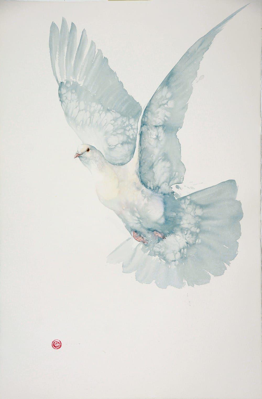 Karl Martens, Pochard Flying (Mounted) (Hungerford Gallery)
