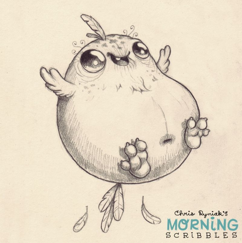 Morning+Scribbles+#273