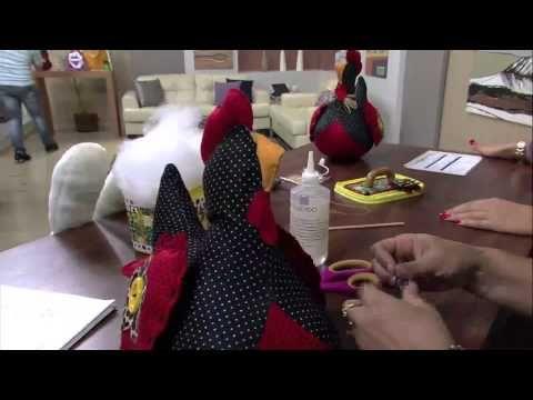 Mulher.com 08/03/2013 - Jully Malzoni Galinha de Feltro Parte 1 - YouTube
