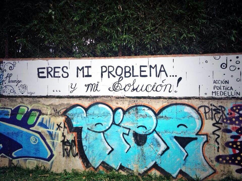 Eres la solución a todos mis problemas.