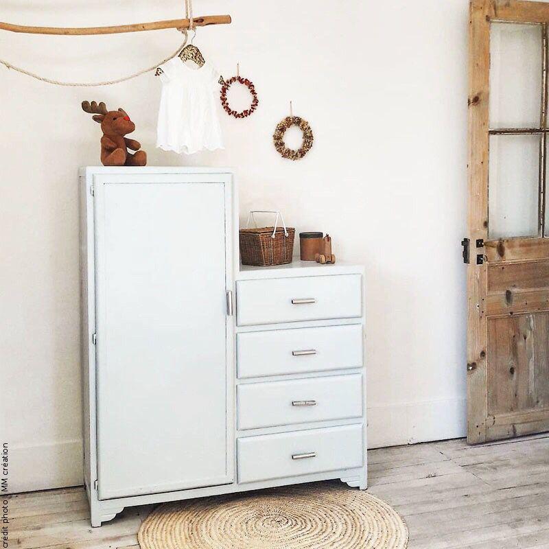 Armoire Vintage Asymetrique Capharnaum Net Relooking Meuble Idee Chambre Bebe Mobilier De Salon