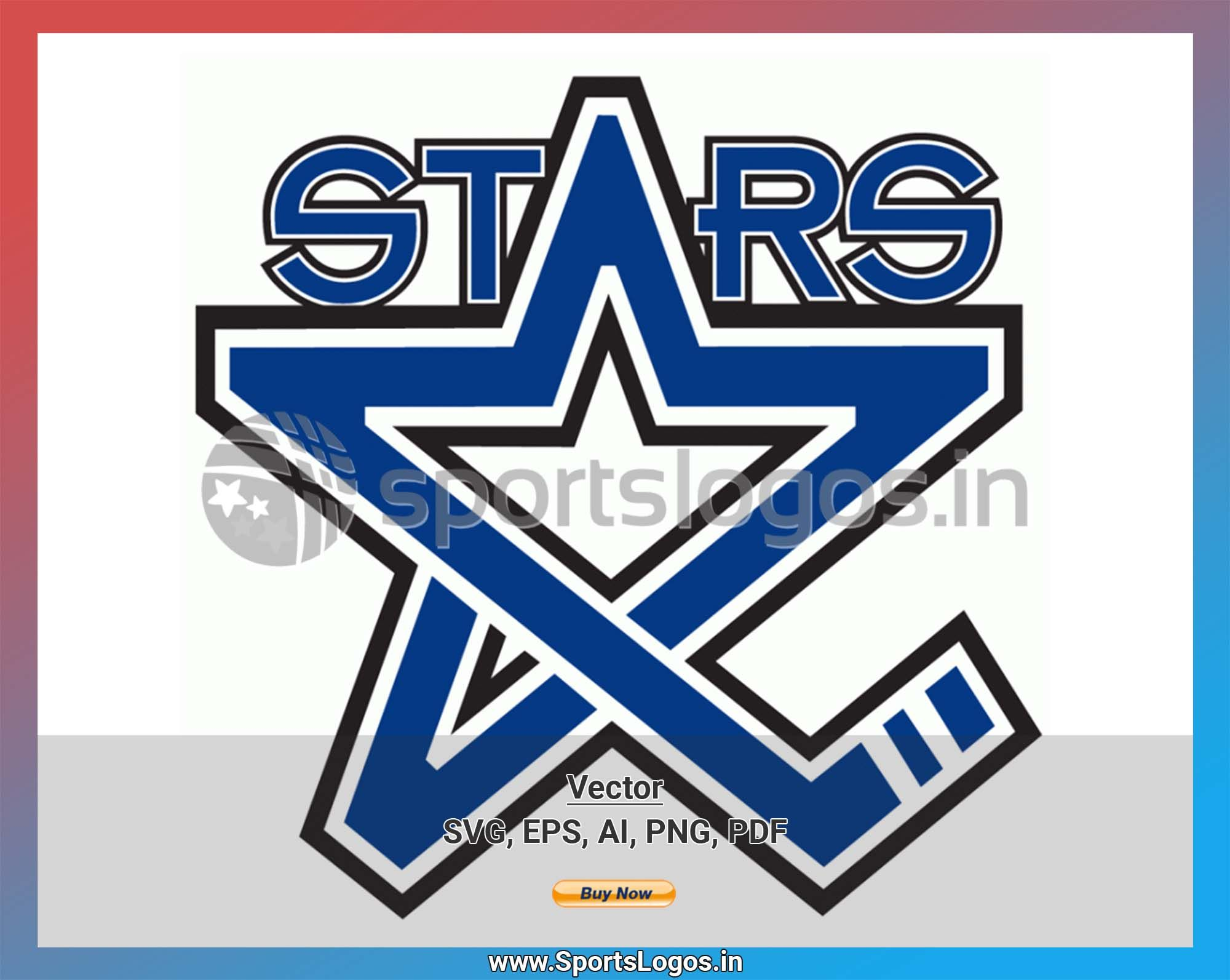Lincoln Stars Hockey Sports Vector Svg Logo In 5 Formats Spln002369 Sports Logos Embroidery Vector For Nfl Nba Nhl Mlb Milb And More Stars Hockey Sport Hockey Embroidery Logo
