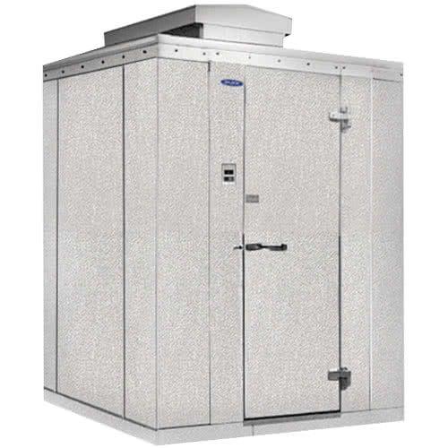 Nor Lake Kodf771014 C Kold Locker 10 X 14 X 7 7 Outdoor Walk In Freezer Walk In Freezer Storage Spaces Cooling Unit
