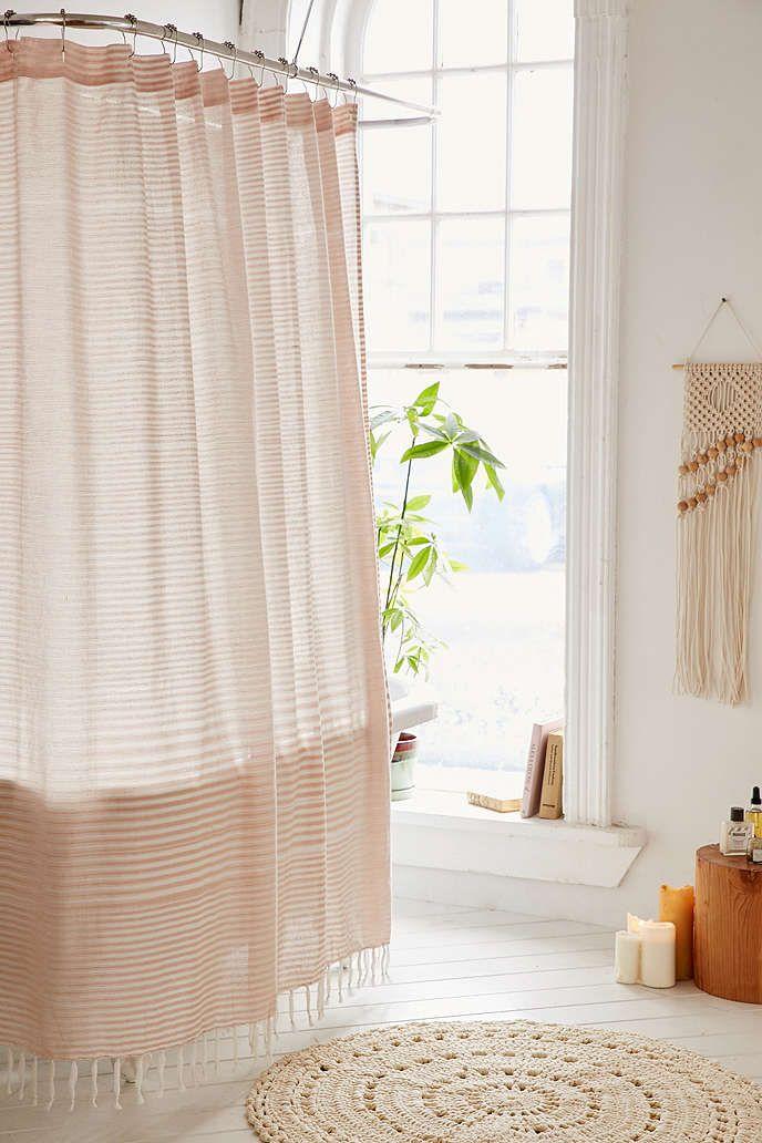 Copper Shower Curtain Hooks Set Pretty Shower Curtains Pink