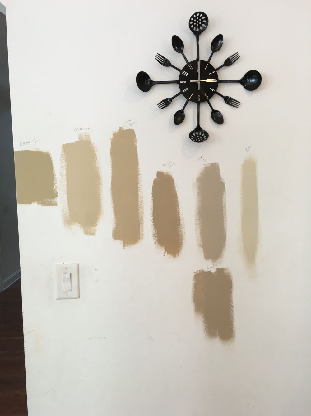 Sherwin williams believable buff - Sherwin Williams Paint Colors From Left To Right Downing Straw Restrained Gold Stonebriar