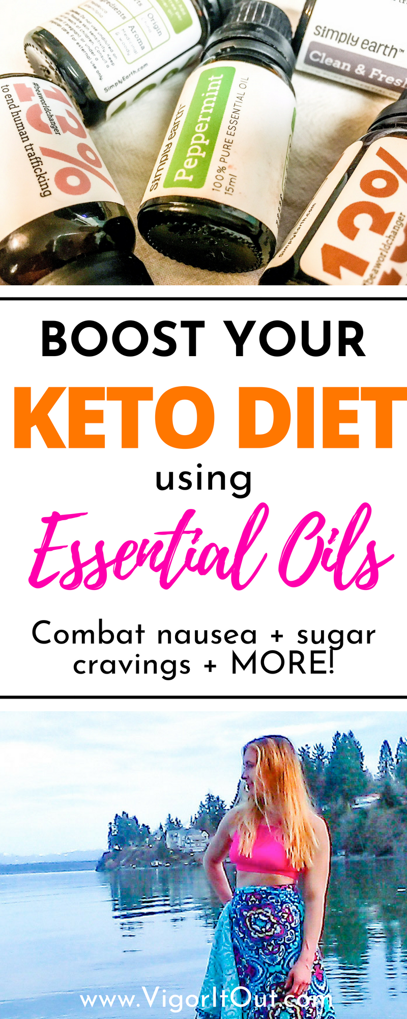 essential oils and keto diet