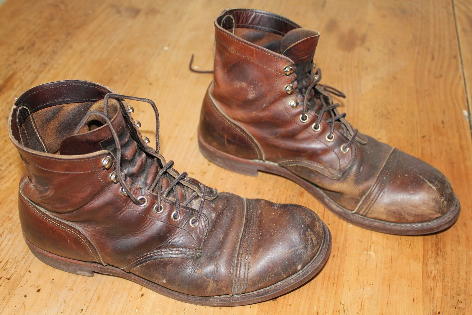 The company Red Wing is known for their high quality work boots ...