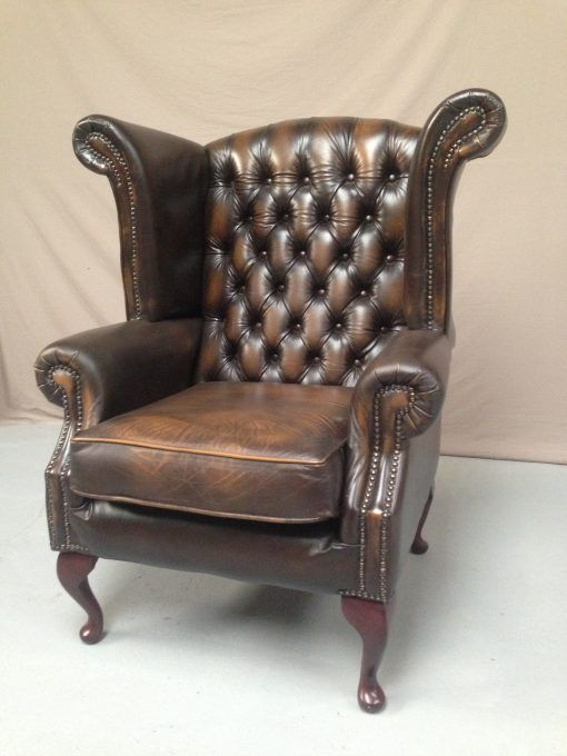 Chesterfield Fauteuil Oxblood.Fauteuil Chesterfield Wing Chair Furniture Wing Chair