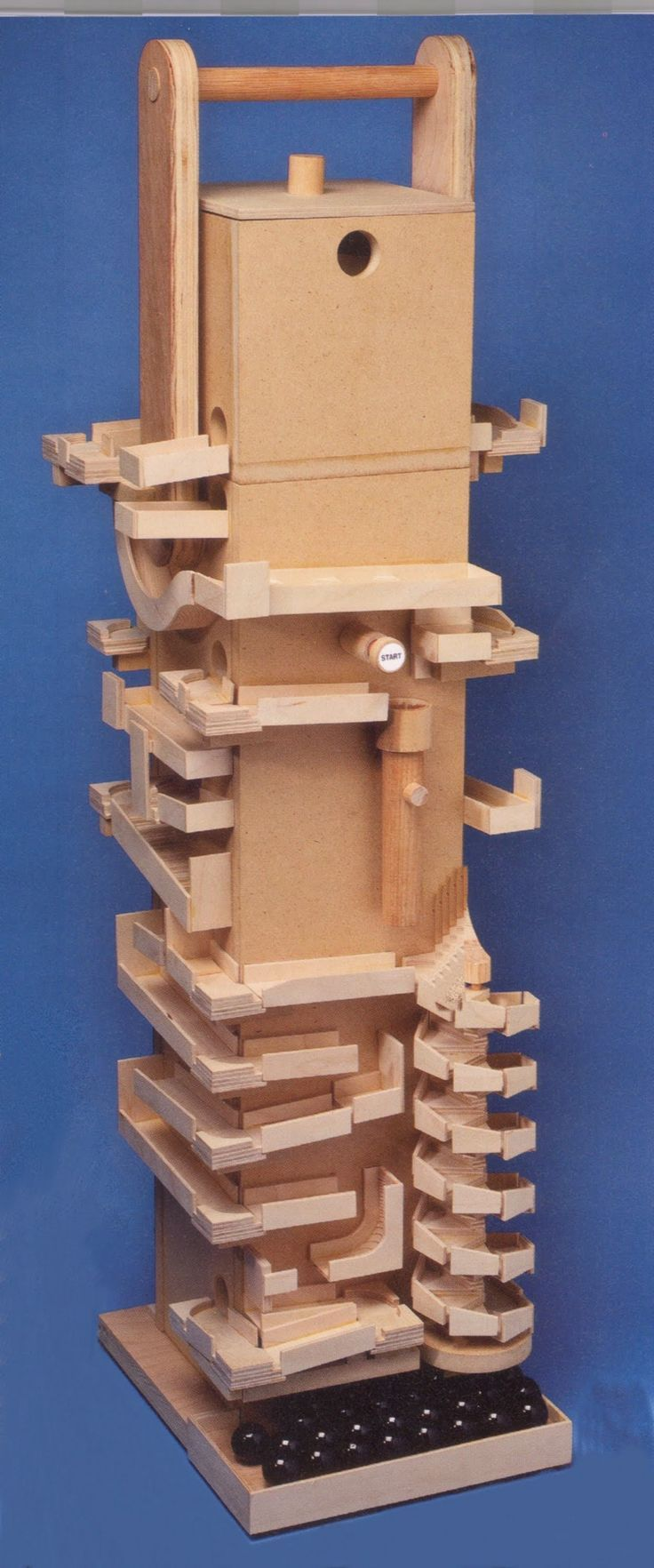 Marble Machine 4 Woodworking Diy Marble Machine