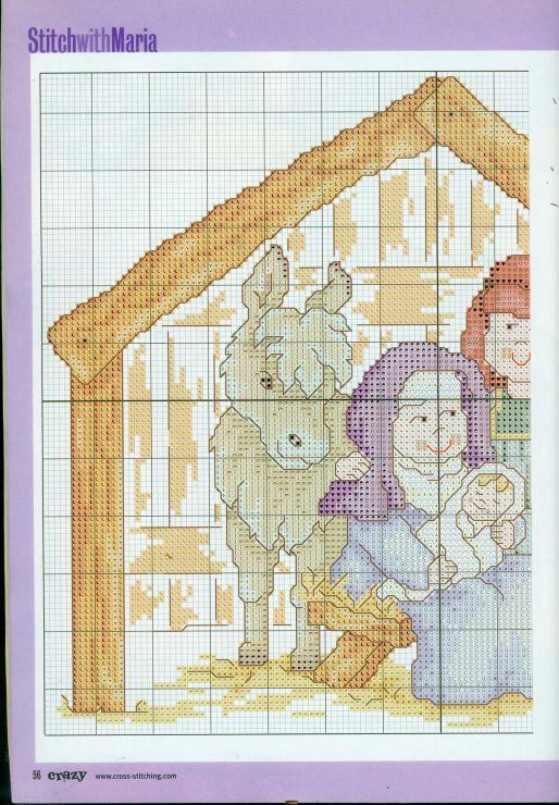 Gallery.ru / Фото #1 - Cross Stitch Crazy 040 рождество 2002 + приложение mickey - tymannost
