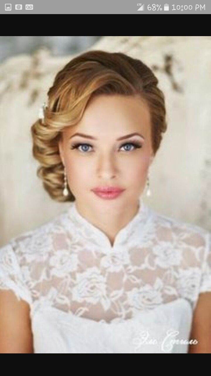 1950s bridesmaid or bride hairstyle ideas! | wedding