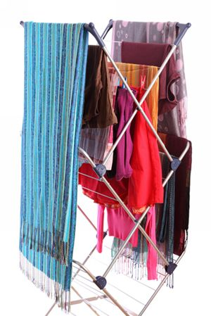 tips for air drying clothes without a clothesline household. Black Bedroom Furniture Sets. Home Design Ideas