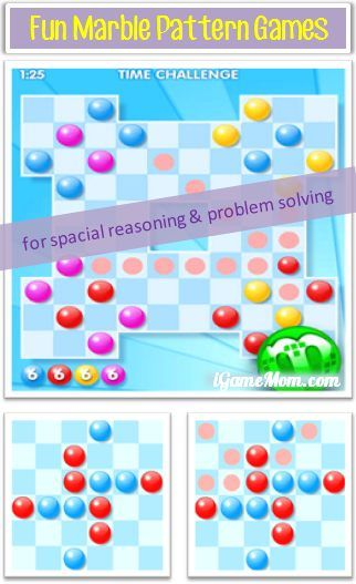 Free App Marbly Game For Spacial Thinking And Problem Solving
