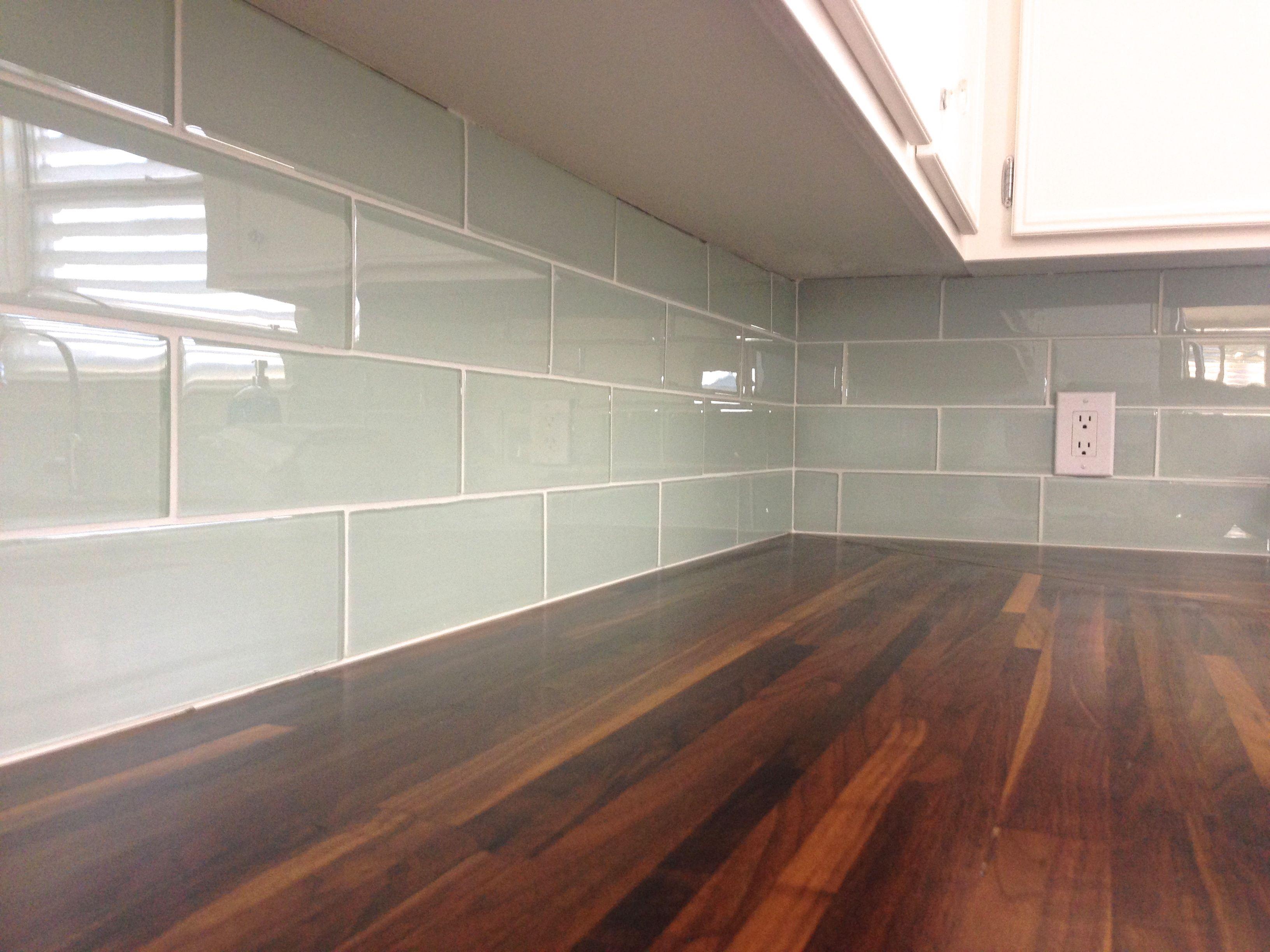 diy glass tile backsplash tips from fisherman 39 s wife furniture