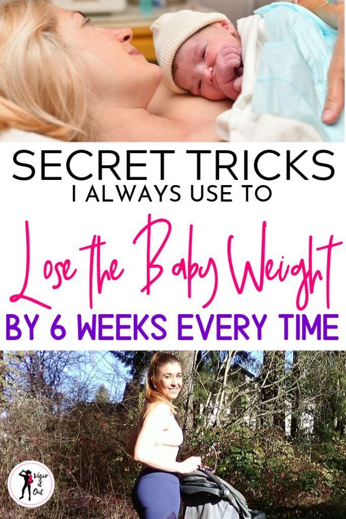 Secret Tricks to 6 Week Postpartum Weightloss After Baby