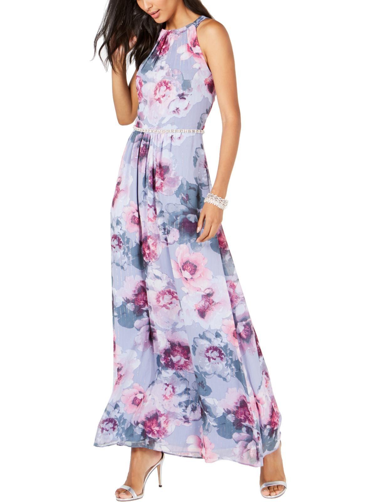 Slny Slny Womens Floral Embellished Evening Dress Walmart Com Sl Fashions Dresses Maxi Dress [ 1600 x 1200 Pixel ]