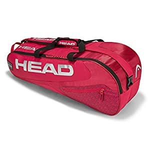 Head Elite 6r Combi Golfiya The Sports Store In 2020 Racquet Bag Tennis Bags Tennis Accessories