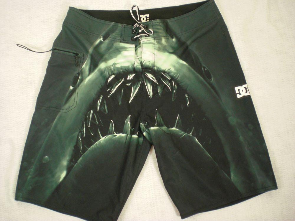 7bfdd180fd Men's Jaws Shark Swim Trunks - Size 32 | Mens Clothing | Swim trunks ...