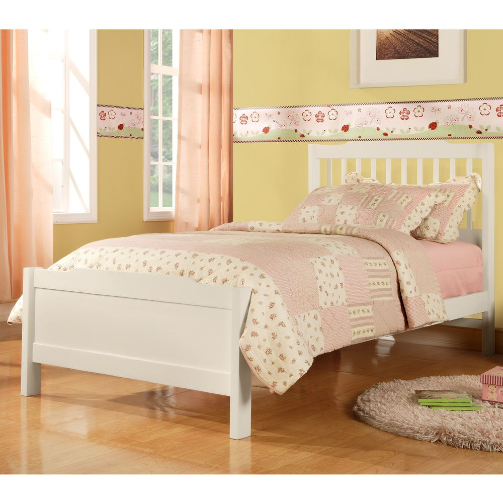 IQ KIDS Simone Twin-size Slatted Headboard Captain Bed by iNSPIRE Q