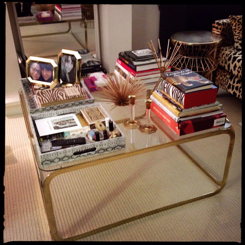 New brass coffee table via Craigslist   Brass coffee table ...
