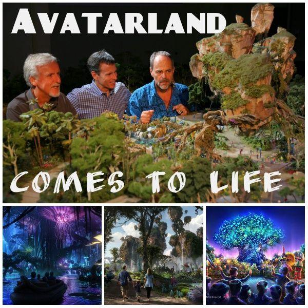 Avatar Pandora Landscape: AVATAR-land Is Coming To Animal Kingdom