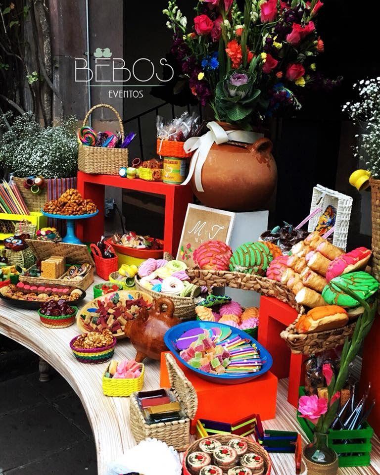 Las mejores mesas dulces para bodas en Bucaramanga
