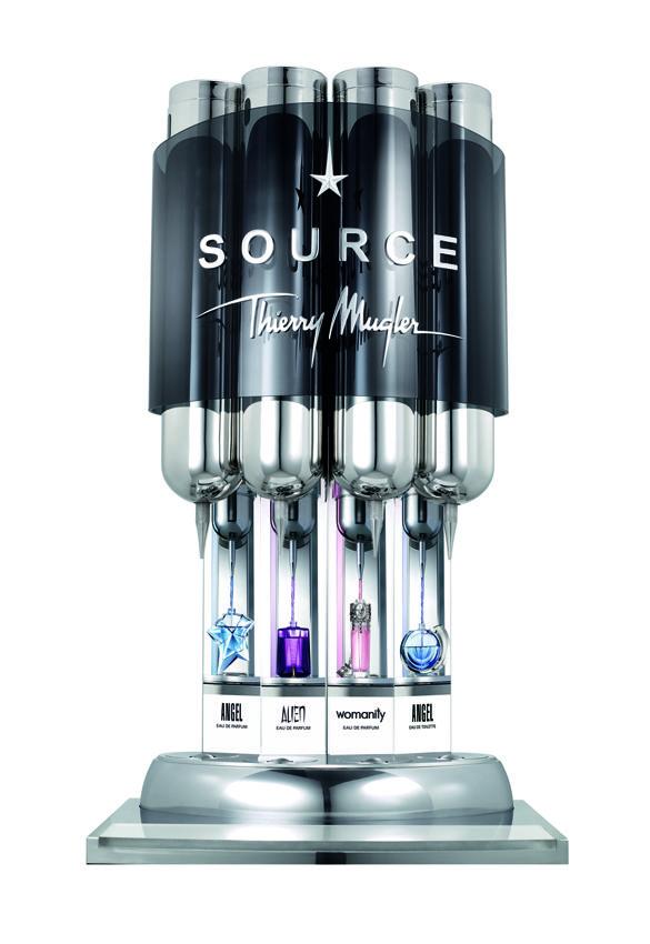 The Source Refillable Bottles Angel Edp Alien Womanity Angel