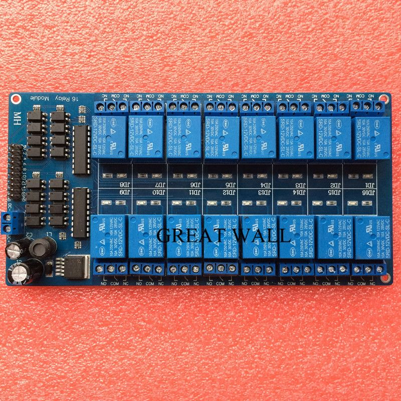 1pcs 12V 16 Channel Relay Module for ARM PIC AVR DSP