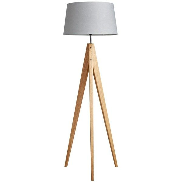 Thea Tripod Floor Lamp 75 Liked On Polyvore Featuring